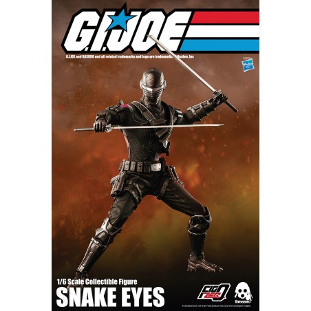 G.I. JOE SNAKE EYES 30CM ACTION FIGURE