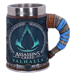 NEMESIS NOW ASSASSIN'S CREED VALHALLA LOGO RESIN TANKARD