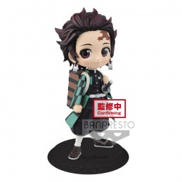 DEMON SLAYER Q POSKET TANJIRO KAMADO MINI ACTION FIGURE BANPRESTO