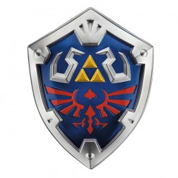 LEGEND OF ZELDA PLASTIC REPLICA HYLIAN SHIELD 48CM SCUDO DISGUISE
