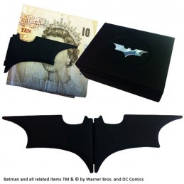 NOBLE COLLECTIONS BATMAN BATARANG MONEY CLIP FERMASOLDI METALLO NERO