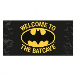BATMAN WELCOME TO THE BATCAVE METAL SIGN TARGA PYRAMID INTERNATIONAL