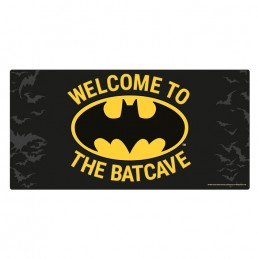 PYRAMID INTERNATIONAL BATMAN WELCOME TO THE BATCAVE METAL SIGN