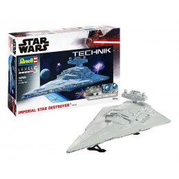 STAR WARS STAR DESTROYER MODEL KIT SOUND LIGHTS FIGURE 1/2700 REVELL