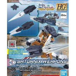HGBDR HIGH GRADE HGBDR SATURNIX WEAPONS 1/144 MODEL KIT ACTION FIGURE BANDAI