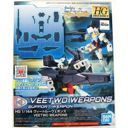 HGBDR HIGH GRADE HGBDR VEETWO WEAPONS 1/144 MODEL KIT ACTION FIGURE BANDAI