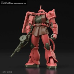 BANDAI HIGH GRADE HGUC GUNDAM ZAKU II MS-06S 1/144 MODEL KIT