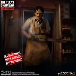 THE TEXAS CHAINSAW MASSACRE LEATHERFACE ONE:12 COLLECTIVE ACTION FIGURE MEZCO TOYS