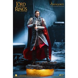 LORD OF THE RINGS KING ARAGORN 2.0 DELUXE ACTION FIGURE STAR ACE