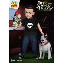 TOY STORY SID PHILLIPS WITH SCUD DAH-033 CLOTH ACTION FIGURE BEAST KINGDOM