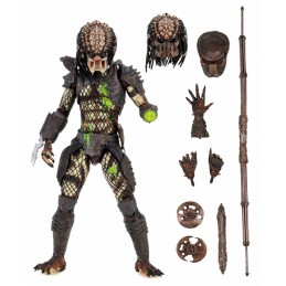 PREDATOR ULTIMATE BATTLE DAMAGED CITY HUNTER ACTION FIGURE NECA