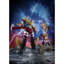 AOSHIMA GATTAI ATLANGER ROBOT AND ATORI MODEL KIT ACTION FIGURE
