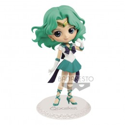 SAILOR MOON Q POSKET SUPER SAILOR NEPTUNE 14 CM MINI ACTION FIGURE BANPRESTO