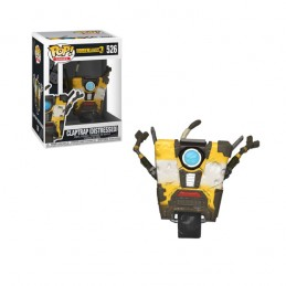 FUNKO FUNKO POP! BORDERLANDS 3 - CLAPTRAP DISTRESSED BOBBLE HEAD KNOCKER FIGURE