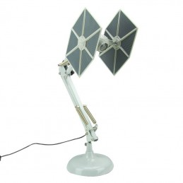 PALADONE PRODUCTS STAR WARS TIE FIGHTER POSABLE DESK LAMP LAMPADA DA TAVOLO