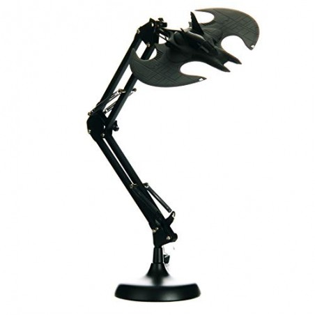 BATMAN BATWING POSABLE DESK LAMP LAMPADA DA TAVOLO