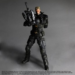 SQUARE ENIX DEUS EX LAWRENCE BARRETT PLAY ARTS KAI ACTION FIGURE