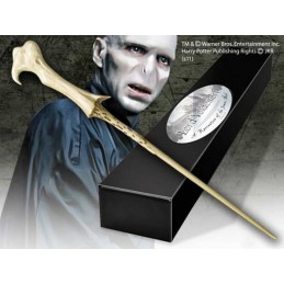 HARRY POTTER LORD VOLDEMORT WAND BACCHETTA NOBLE COLLECTIONS