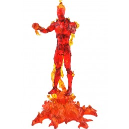 DIAMOND SELECT MARVEL SELECT FANTASTIC FOUR THE HUMAN TORCH ACTION FIGURE