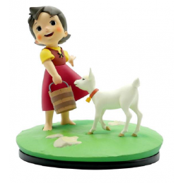 LMZ Collectibles HEIDI AND SNOWFLACKE STATUE FIGURE