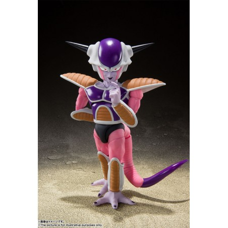 DRAGON BALL Z FRIEZA (FREEZER) FIRST FORM + POD SET S.H. FIGUARTS ACTION FIGURE