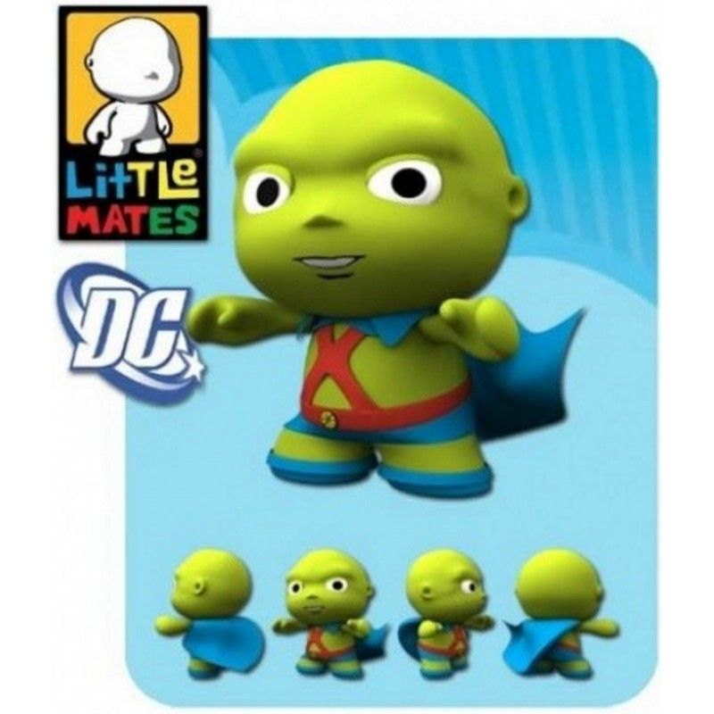 LITTLE MATES DC COMICS MINI FIGURE - MARTIAN MANHUNTER