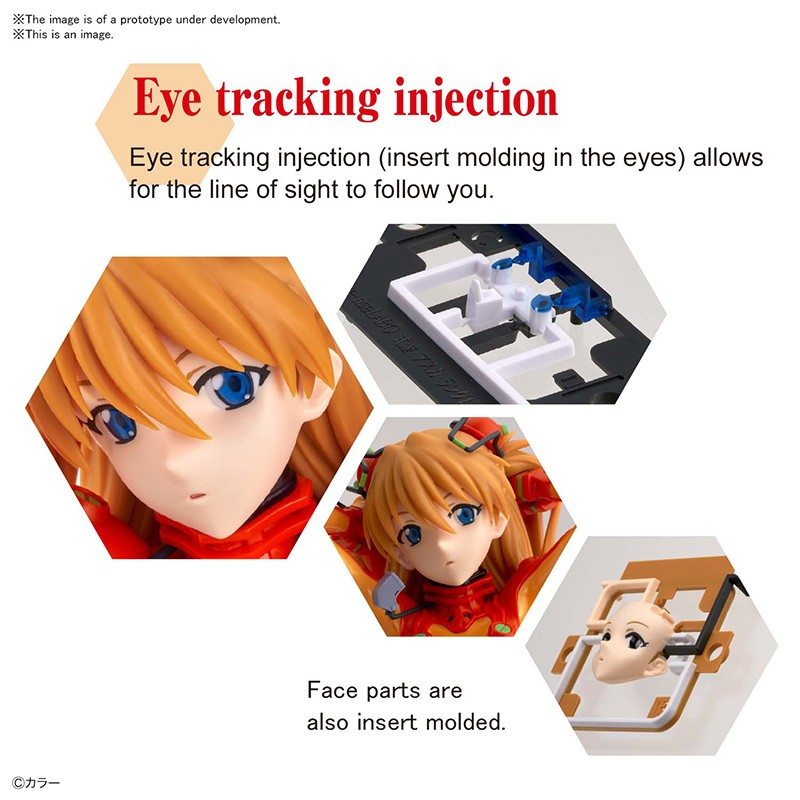 FIGURE RISE LABO SHIKINAMI ASUKA LANGLEY MODEL KIT BANDAI