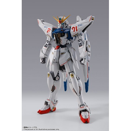 METAL BUILD GUNDAM F91 CHRONICLE WHITE ACTION FIGURE