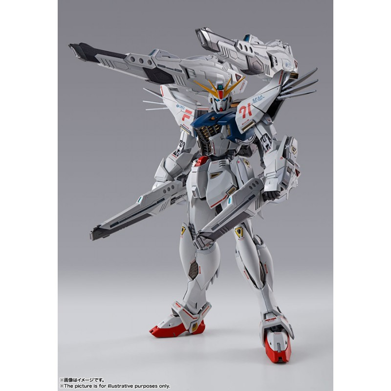 METAL BUILD GUNDAM F91 CHRONICLE WHITE ACTION FIGURE BANDAI