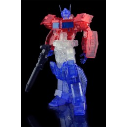 TRANSFORMERS OPTIMUS PRIME CLEAR MODEL KIT ACTION FIGURE FLAME TOYS