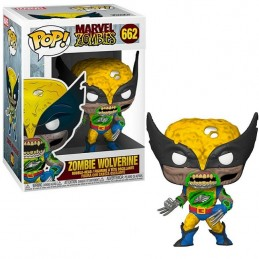 FUNKO POP! MARVEL ZOMBIE WOLVERINE BOBBLE HEAD FIGURE FUNKO