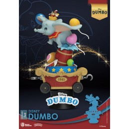 BEAST KINGDOM D-STAGE DISNEY DUMBO STATUE FIGURE DIORAMA