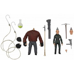 NECA PUPPET MASTER ULTIMATE PINHEAD AND TUNNELER ACTION FIGURE