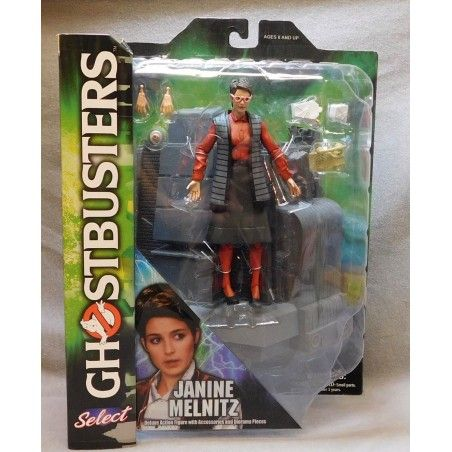 GHOSTBUSTERS SERIES 3 - JANINE MELNITZ ACTION FIGURE