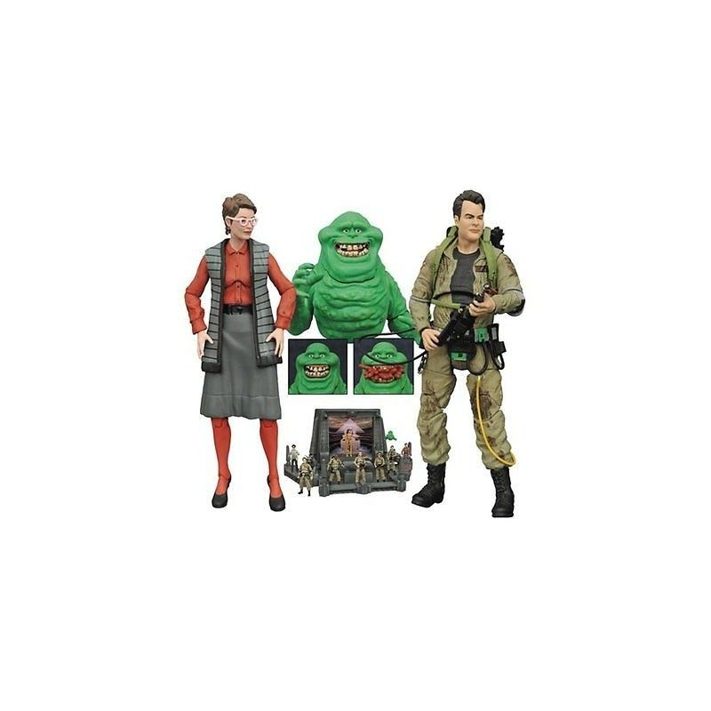 GHOSTBUSTERS SERIES 3 - JANINE MELNITZ ACTION FIGURE DIAMOND SELECT