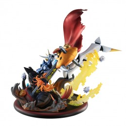 MEGAHOUSE DIGIMON ADVENTURES OMEGAMON VS DIABOLOMON STATUE