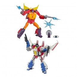 HASBRO TRANSFORMERS AUTOBOT HOT ROD AND STARSCREAM 2-PACK ACTION FIGURE