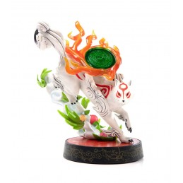 FIRST4FIGURES OKAMI AMATERASU STATUE FIGURE
