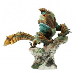 CAPCOM MONSTER HUNTER ZINOGRE FIGURE BUILDER CREATORS MODEL STATUE FIGURE