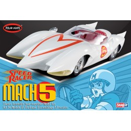 POLAR LIGHTS SPEED RACER MACH 5 MODEL KIT FIGURE