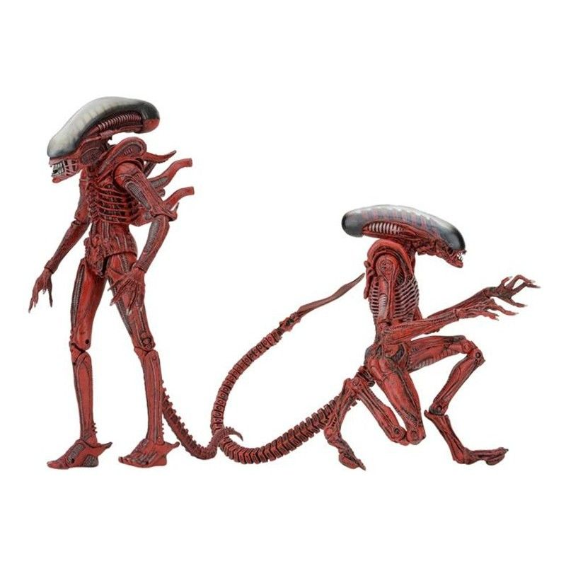 ALIENS GENOCIDE BIG CHAP AND DOG ALIEN 2-PACK ACTION FIGURE NECA