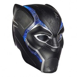 HASBRO MARVEL BLACK PANTHER ELECTRONIC HELMET FULL SCALE 1/1