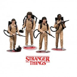 MC FARLANE STRANGER THINGS - GHOSTBUSTERS 4-PACK ACTION FIGURE