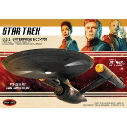 POLAR LIGHTS STAR TREK U.S.S. ENTERPRISE NCC-1701 1/1000 MODEL KIT