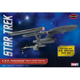 STAR TREK USS ENTERPIRESE AND SS BOTANY BAY 1/1000 MODEL KIT POLAR LIGHTS
