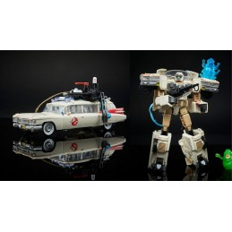 TRANSFORMERS X GHOSTBUSTERS ECTO-1 ACTION FIGURE HASBRO