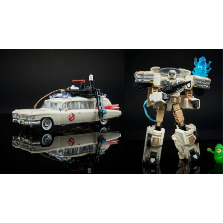 TRANSFORMERS X GHOSTBUSTERS ECTO-1 ACTION FIGURE