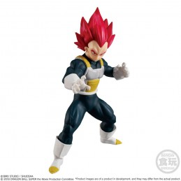 DRAGON BALL SUPER STYLING - SUPER SAIYAN GOD VEGETA STATUA 11CM FIGURE BANPRESTO