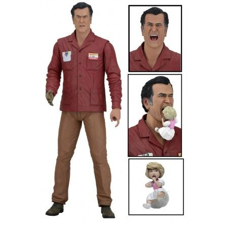 ASH VS EVIL DEAD SERIES 1 - ASH WILLIAMS VALUE STOP ACTION FIGURE