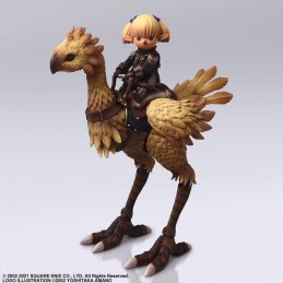 FINAL FANTASY XI BRING ARTS SHANTOTTO AND CHOCOBO ACTION FIGURE SQUARE ENIX